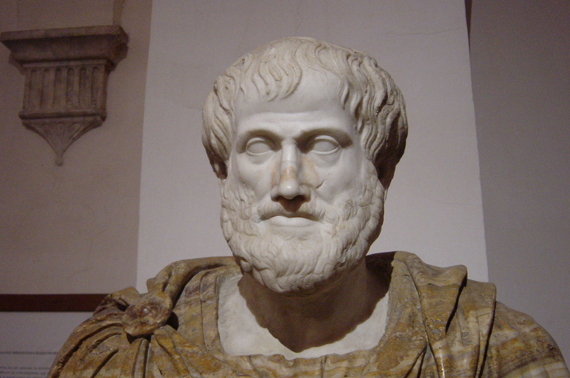 Aristoteles formulierte das Grundprinzip der KorrespondenztheorieAbbildung von Giovanni Dall'Orto; CC-BY