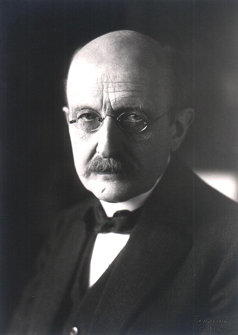 """Max Planck: """"Die Sprachlosigkeit religiöser Erfahrung greift in gewisser Weise mit der Quantenphysik auch auf die äußere Erfahrung über.""""Abbildung gemeinfrei"""