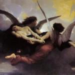 """""""Seele wird zum Himmel getragen"""" von William-Adolphe Bouguereau. Public domain."""