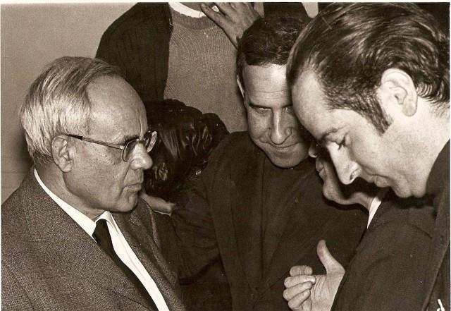 Karl Rahner (li) war der Berater von Kardinal König Foto von Jesromtel, CC-BY 3.0