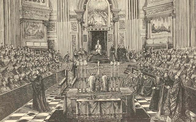 Vaticanum I Abbildung gemeinfrei
