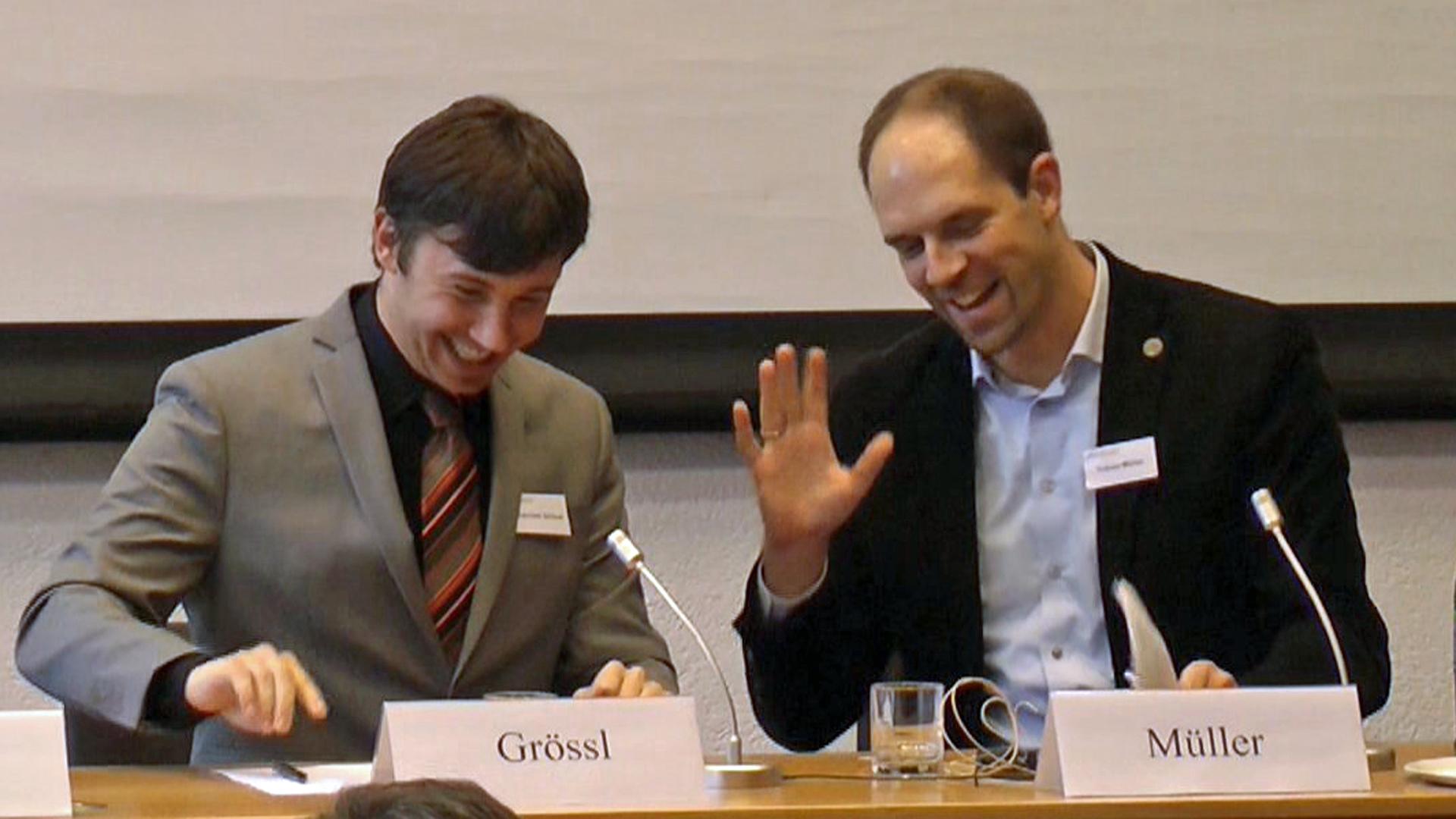 Dr. Johannes Grössl, Dr. Tobias Müller
