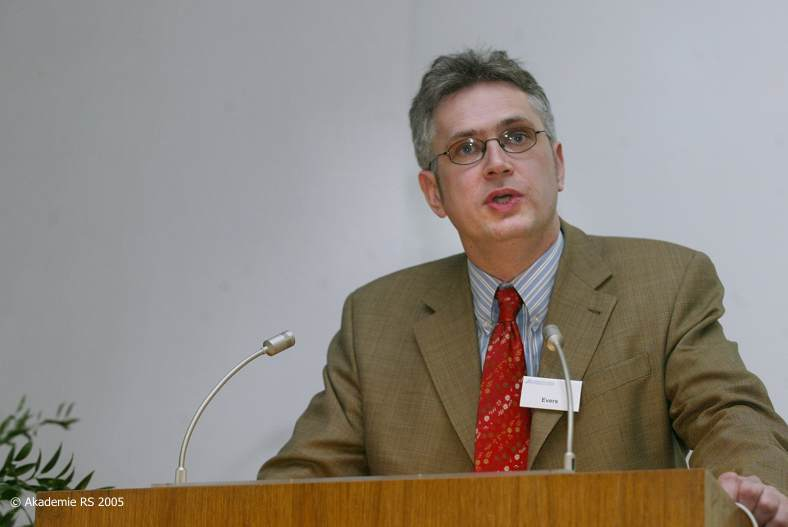 Eröffnungsvortrag Dirk Evers zum Dialog Naturwissenschaft - Theologie in Deutschland