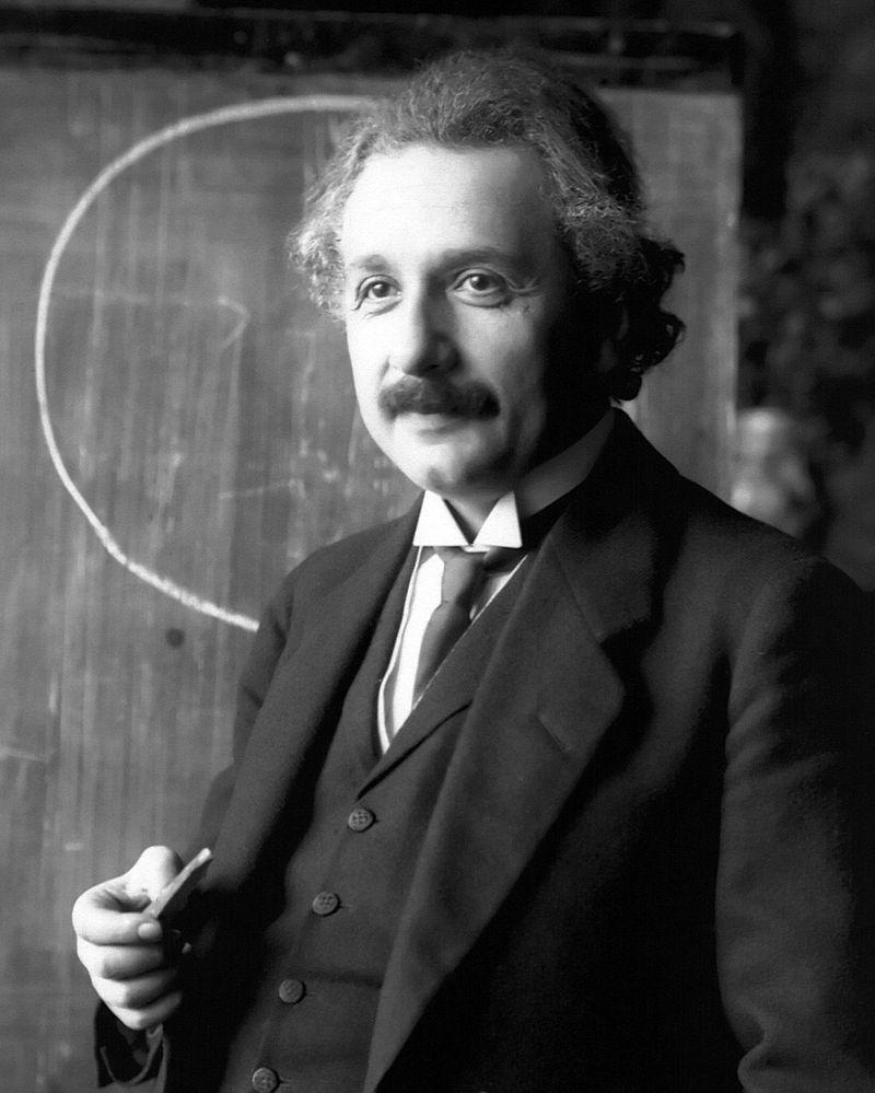 Albert EinsteinFoto gemeinfrei
