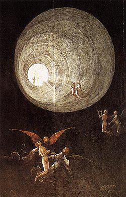 Hieronymus Bosch: Der Flug zum Himmel